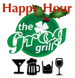 Holiday Happy Hour at the Grog