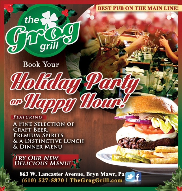 Celebrate at the Grog Grill!