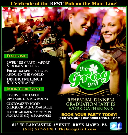 Book Your Event at The Grog Grill!